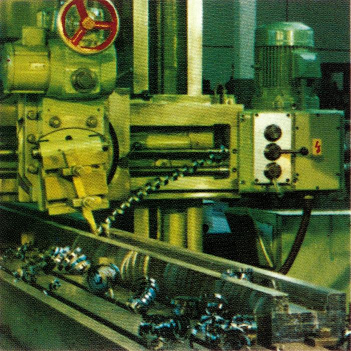 Kreso Historie Maschinen
